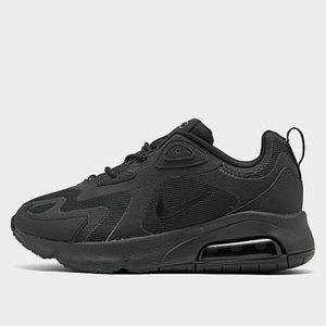 Nike Air Max 200 Black women's sneaker shoe
